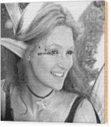 Freckled Fae Wood Print