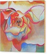 Fred Martin Begonia Wood Print