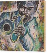 Freddie Hubbard Jazz Wood Print
