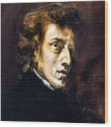 Frederic Chopin Wood Print by Granger