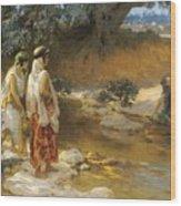 Frederick Arthur Bridgman 1847   1928 American At The Water S Edge Wood Print
