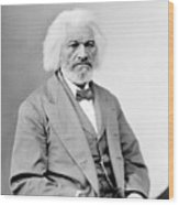 Frederick Douglass 1818-1895, African Wood Print
