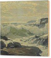 Frederick Judd Waugh 1861   1940 Coast Of Maine Wood Print