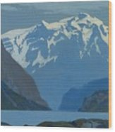 Frederick Judd Waugh  American  1861 1940  Northwest Coast Wood Print