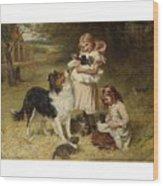 Frederick Morgan  R O I  British  1847 1927  And Allen Culpepper Sealy  British  1850 1927  Rival Fa Wood Print