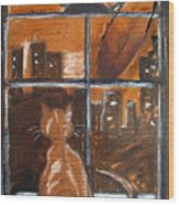 Fredrick's Window Wood Print