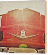 Fred's Farm Truck Wood Print
