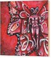 Free As An Aries Wood Print