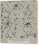 Free Hand Decoration Wood Print