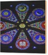 Free Masons Wood Print