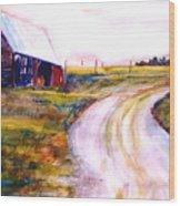 Freedman Farm Wood Print