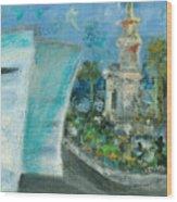 Freedom Tower And Aaa Wood Print