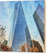 Freedom Tower Wood Print