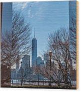 Freedom Tower Framed Wood Print