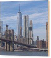 Freedom Tower I I Wood Print