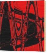 Freeways Wood Print