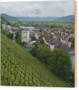 Freiburg Wine Sloop Wood Print