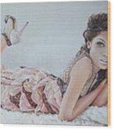 Freida Pinto Wood Print