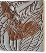 French - Tile Wood Print