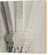 French Chateau Architecture 1 Wood Print