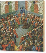 French Court, 1458 Wood Print