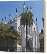 French Huguenot Church In Charleston Wood Print