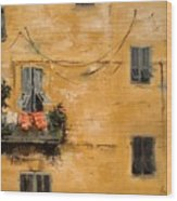 French Laundry Wood Print