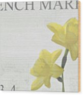 French Market Series B Wood Print