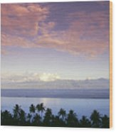 French Polynesia, Papeete Wood Print