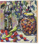 French Provence Cooking Still Life Wood Print
