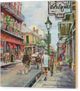 French Quarter Antiques Wood Print by Dianne Parks