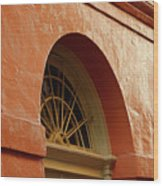 French Quarter Arches Wood Print