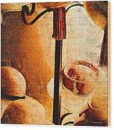French Quarter Hats Wood Print