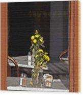 French Quarter Resturant-signed-#4856 Wood Print