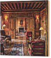 French Repose Wood Print