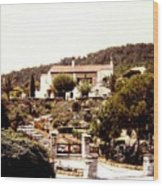 French Riviera 1955 Wood Print
