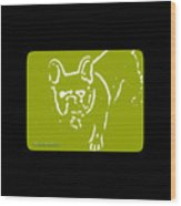 Frenchielove Design Chartreuse Wood Print