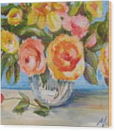 Fresh Bouquet Wood Print
