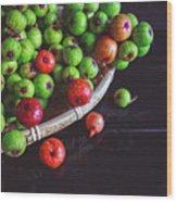 Fresh Figs Wood Print