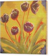Fresh Flowers- 2nd In Series- The Dawn Wood Print