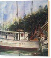 Fresh Shrimp Alabama Wood Print by Don F  Bradford
