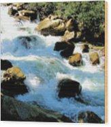 Fresh Water - Colorado Rockies Wood Print