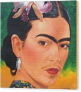 Frida Kahlo 2003 Wood Print