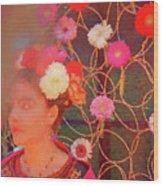 Frida Kalho Inspired Wood Print