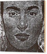 Frida Khalo Wood Print