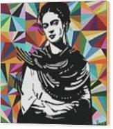 Frida Stay True Wood Print