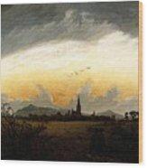 Friedrich Caspar David Neubrandenburg Wood Print