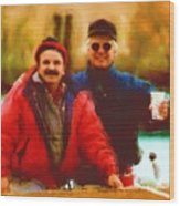 Friends Last A Life Time Wood Print