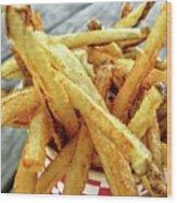Fries Wood Print