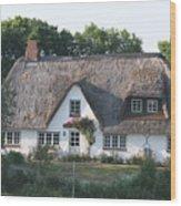 Friesian House Wood Print